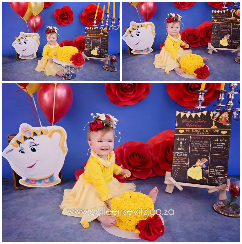 Johannesburg Cake Smash Photography Taylor S Beauty And The Beast
